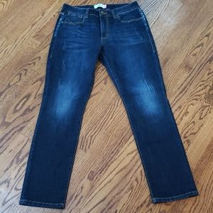 Cabi high straight jean